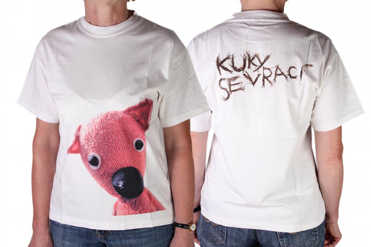 ... se vrací » Dětské tričko s potiskem Kuky S. Dětské tričko kuky c150d10080